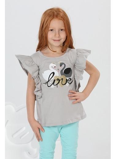 Lupiakids Love Fırfırlı Bluz Renkli